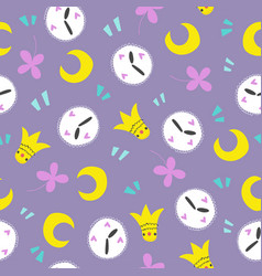 Seamless creative pattern vector