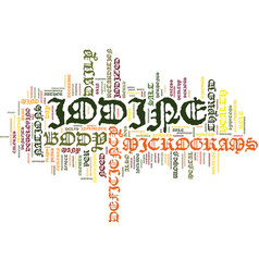 The benefits of iodine text background word cloud vector
