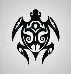 Turtle Tribal vector image