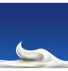 White abstract liquid background vector