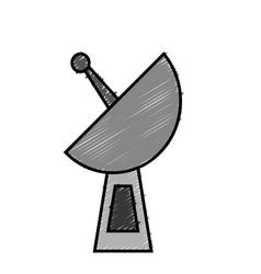 Antenna icon image vector
