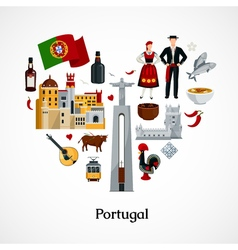 Portugal Flat vector image vector image