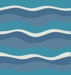 water wave abstract design vector image vector image