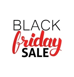Black Friday Sale Hand Drawn Lettering vector