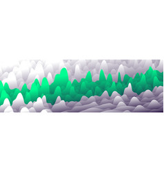 Colorful layers in gradient texture banner vector