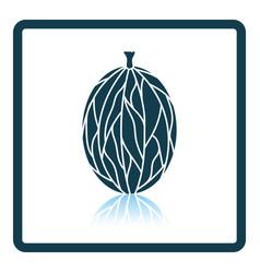 icon of gooseberry vector image