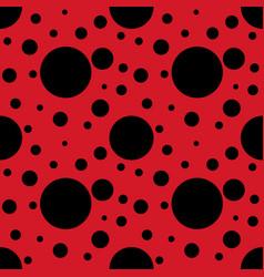 ladybug pattern seamless vector image