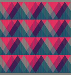 Red triangle seamless pattern vector