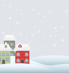 seasonal background vector image