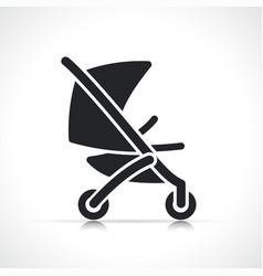 Stroller icon symbol design vector