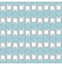teeth pattern seamless vector image vector image