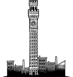 Baltimore Tower vector image vector image