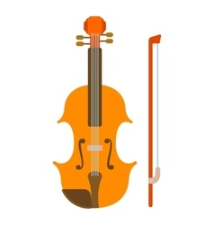 Contrabass icon flat style vector image vector image