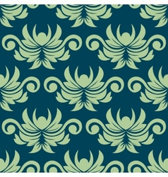 Persian paisley seamless floral pattern vector image vector image
