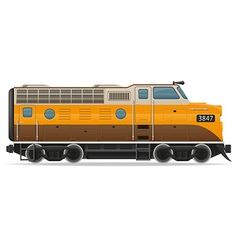 lokomotiv 01 vector image
