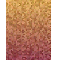 Abstract 3d cube mosaic background design vector image