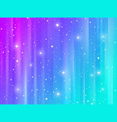 abstract background with shining stars vector image