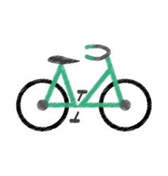 Bike or bicycle icon image vector