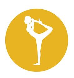 Dancer design vector image