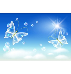 ecology clean air vector image