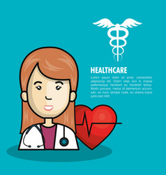 Health professional avatar icon vector