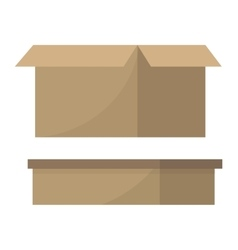 Move service box vector image