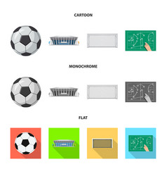 Soccer and gear sign vector