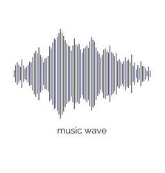 Sound wave equalizer on light vector