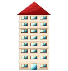Tall building vector