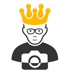 Thai king icon vector