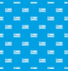 login and password pattern seamless blue vector image vector image