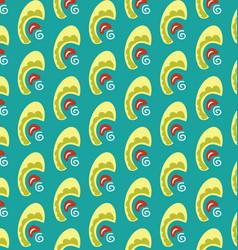 geometric style pastel vector image