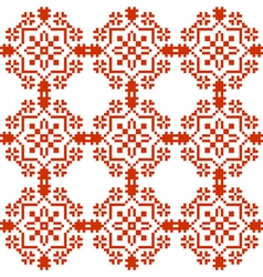 Slavic geometrical ornament seamless pattern vector image vector image