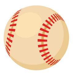 baseball ball icon cartoon style vector image