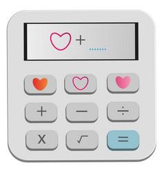 Calculate heart vector