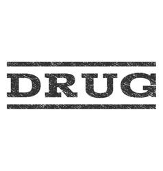 Drug Watermark Stamp vector