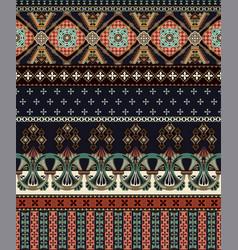 Seamless ornamental pattern ornamental vector