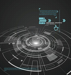 Three-dimensional interface technology the future vector image