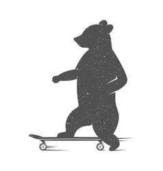 Fun Bear vector image