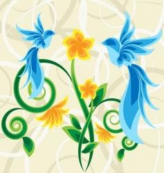 magic garden vector image vector image