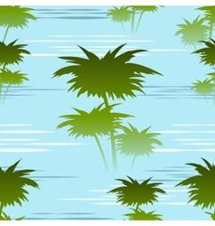 morning jungles seamless pattern vector image vector image