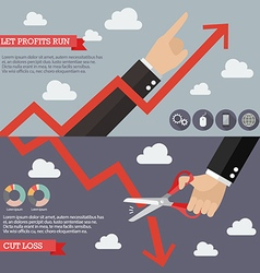 Strategy of Technical Analysis Infographic vector image vector image