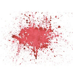 Blood watercolor vector image