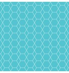 hexagon pattern background vector image vector image