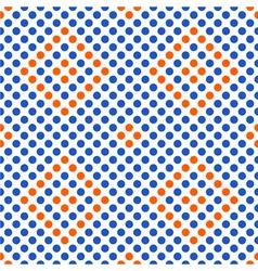 Seamless geometric pattern with rhombus vector image