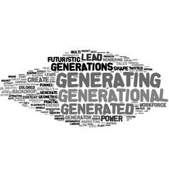 Generating word cloud concept vector