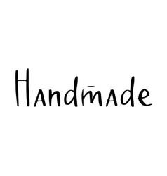 Handmade lettering in -07 vector