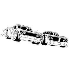 Race line art vector