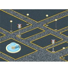 Urban cobblestones vector image
