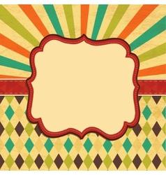 Card background border frame banner vector